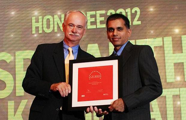The Resilient 100: Sri Karumbati, CIO of Stumpp Schuele & Somappa Springs receives the CIO100 Award for 2012