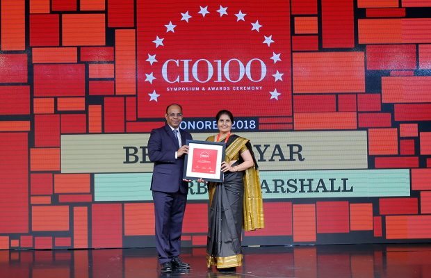 The Digital Architect: Beena Nayar, Head–IT, Forbes Marshall receives the CIO100 Award for 2018