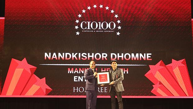 The Digital Innovators: Nandkishor Dhomne, VP-IT and CIO at Manipal Health Enterprises receives the CIO100 Award for 2017