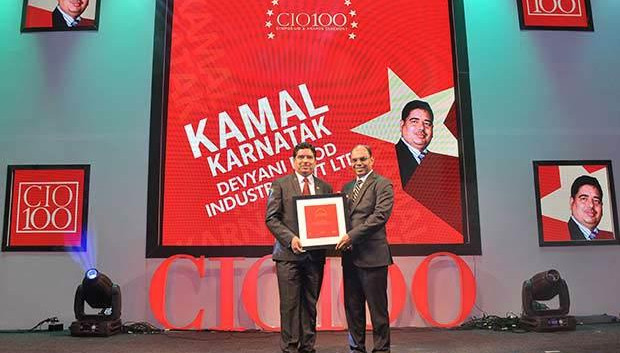 The Transformative 100: Kamal Karnatak, Senior VP and Group CIO of R J Corporation receives the CIO100 Award for 2016