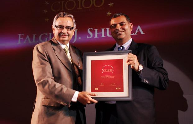 The Agile 100: Falgun Shukla, Senior GM-IT of Hikal receives the CIO100 Award for 2010