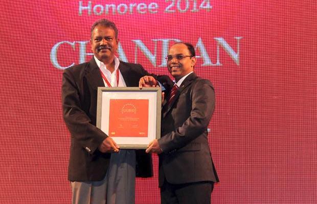 The Dynamic 100: Chandan Sinha, CIO of Jindal Saw receives the CIO100 Award for 2014