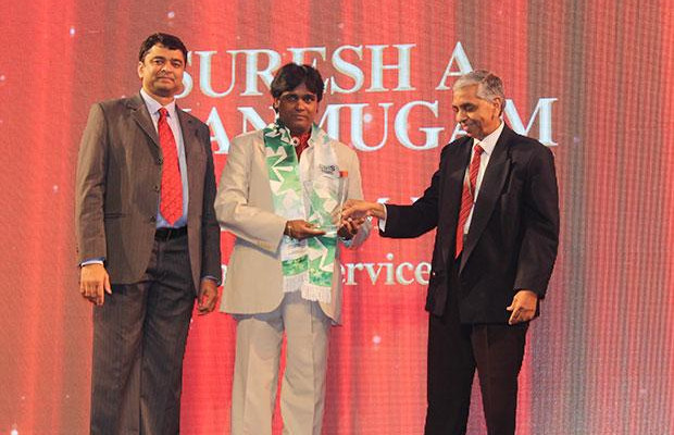 Business Transformer: Suresh A Shanmugam, Head - Business IT, Mahindra & Mahindra Financial receives the CIO100 Special Award for 2014, constituted in association with CtrlS.