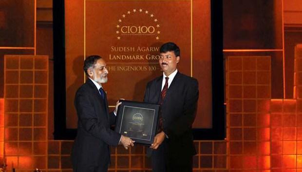 The Ingenious 100: Sudesh Agarwal, CIO of Landmark Group receives the CIO100 Award for 2009