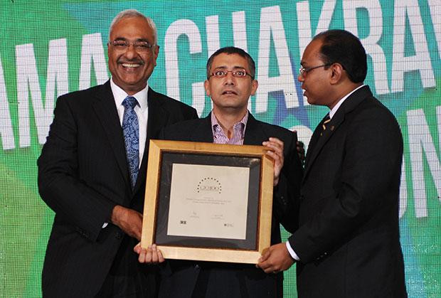 Super League: Tamal Chakravorty, Director-IT, Ericsson India receives the CIO100 Special Award for 2012