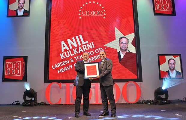 The Transformative 100: Anil Kulkarni, GM-IT, ERP and PLM of L&T-Heavy Engineering receives the CIO100 Award for 2016