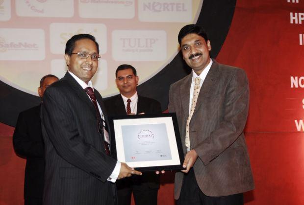 The Bold 100: Jai Menon, Director - IT Innovations, Bharti Airtel receives the CIO100 Award for 2008