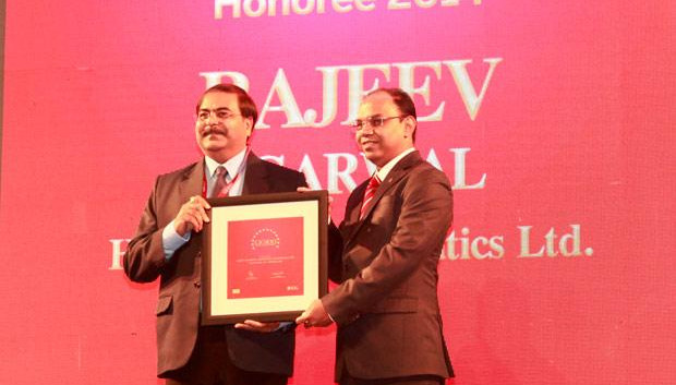 The Dynamic 100: Rajeev Agarwal, Head-Corp IT of HAL receives the CIO100 Award for 2014