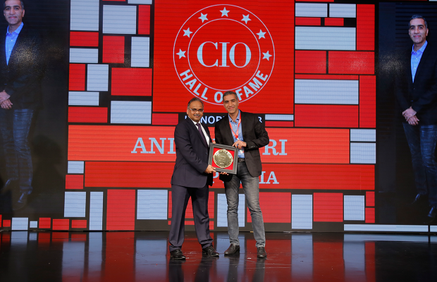 Hall of Fame: Anil Khatri, Head IT-SAP South Asia receives the CIO100 Special Award for 2018