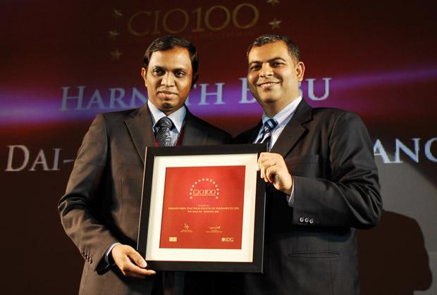 The Agile 100: Harnath Babu, Senior AVP-IT of Star Union Dai-Chi Life Insurance receives the CIO100 Award for 2010
