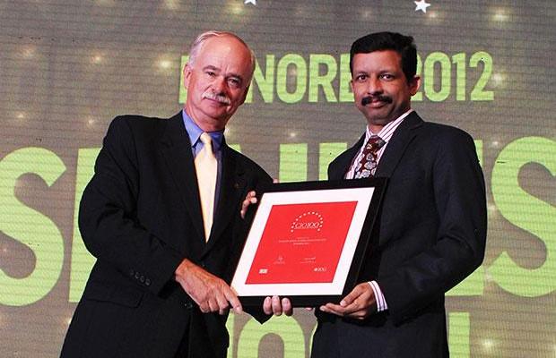 The Resilient 100: Shailesh Joshi, VP-Head IT, Godrej Industries receives the CIO100 Award for 2012