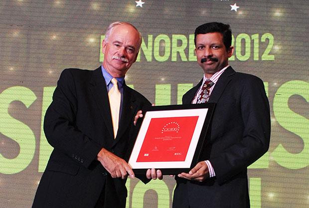 The Resilient 100: Shailesh Joshi, VP-Head IT, Godrej Industries receives the CIO100 Award for 2012