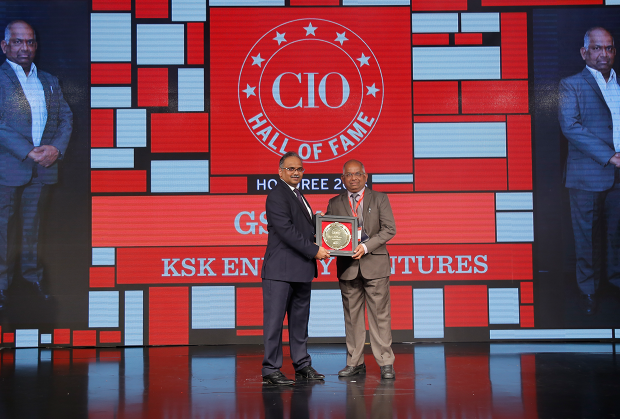 Hall of Fame: G S Rao, CIO at KSK Energy Ventures receives the CIO100 Special Award for 2018