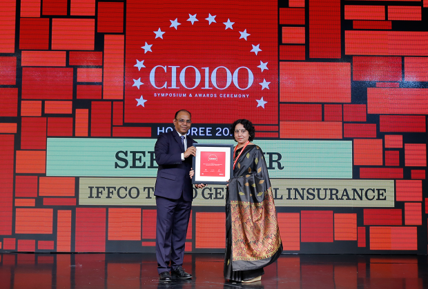 The Digital Architect: Seema Gaur, Executive Vice President & Head-IT, IFFCO Tokio General Insurance Company, receives the CIO100 award for 2018