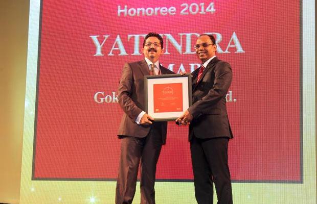The Dynamic 100: Yatendra Kumar, Head-IT, Gokaldas Exports receives the CIO100 Award for 2014