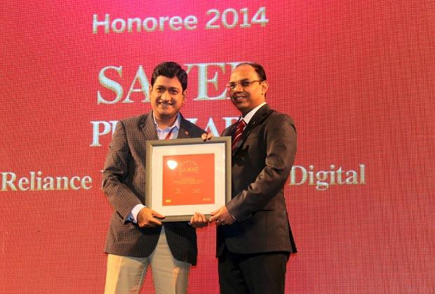 The Dynamic 100: Sayed Peerzade, VP-Technology of Reliance Big Entertainment receives the CIO100 Award for 2014