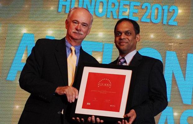 The Resilient 100: Anthony Thomas, CIO, Vodafone India receives the CIO100 Award for 2012