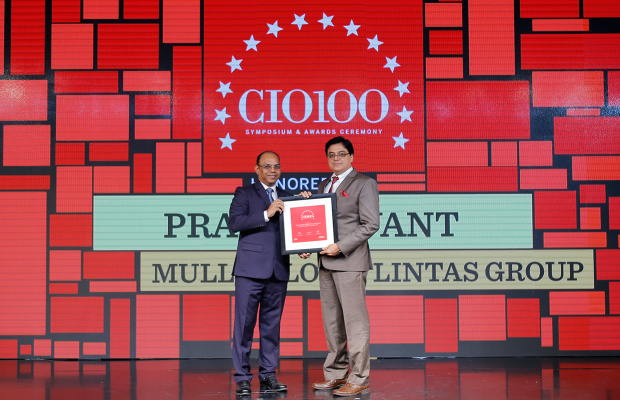 The Digital Architect: Pravin Savant, Group Chief TechnologyOofficer, Mullen Lowe Lintas Group, receives the CIO100 award for 2018