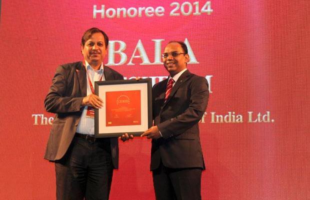The Dynamic 100: Bala Meshram, Sr. VP & Head IT, The Shipping Corporation of India receives the CIO100 Award for 2014