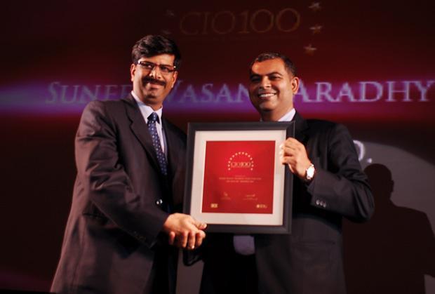 The Agile 100: Suneel Vasant Aradhye, CTO of Essar Steel India receives the CIO100 Award for 2010