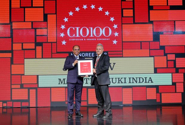 The Digital Architect: J P Yadav, Senior Executive Director at Maruti Suzuki India receives the CIO100 Award for 2018