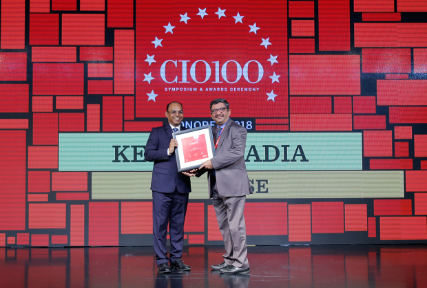 The Digital Architect: Kersi Tavadia, CIO at BSE receives the CIO100 Award for 2018