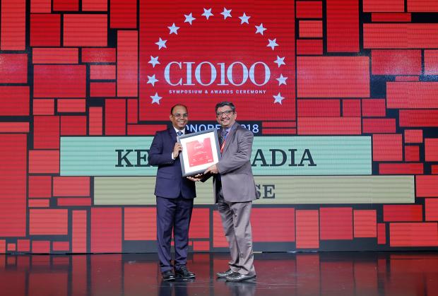 The Digital Architect: Kersi Tavadia, CIO at BSE receives the CIO100 Award for 2018