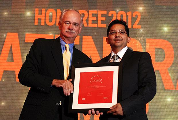 The Resilient 100: Yatendra Kumar, Head-IT, Gokaldas Exports receives the CIO100 Award for 2012