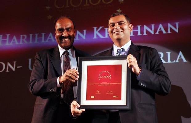 The Agile 100: H Krishnan, VP-IT of Aditya Birla Nuvo receives the CIO100 Award for 2010