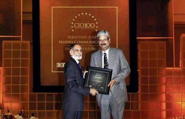 The Ingenious 100: Sebastian Joseph, CTO of DDB Mudra Group receives the CIO100 Award for 2009