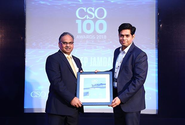 Sandeep Jamdagni, AGM – IT, Ashiana Housing receives CSO100 Award for 2018