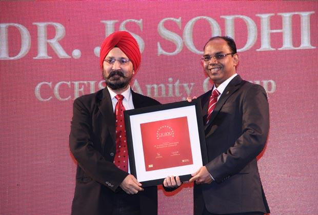 The Dynamic 100: The Versatile 100: J S Sodhi, VP & CIO of Amity Group receives the CIO100 Award for 2014