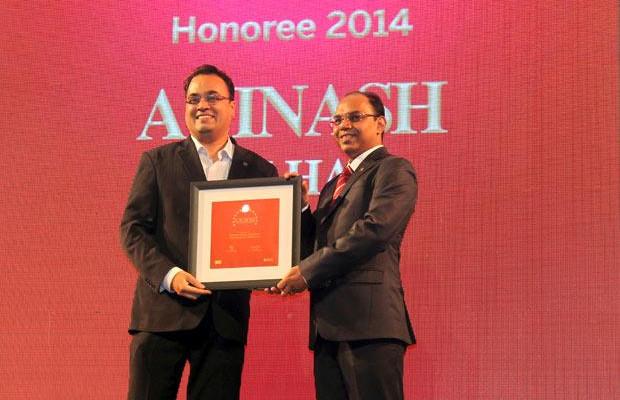 The Dynamic 100: Avinash Velhal, Group CIO-IMEA of Atos India receives the CIO100 Award for 2014