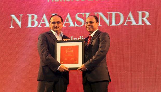 The Dynamic 100: Balasundar Natarajan, CIO of ABB India receives the CIO100 Award for 2014