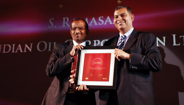 The Agile 100: S Ramasamy, Executive Director-IS at Indian Oil Corporation (IOCL) receives the CIO100 Award for 2010