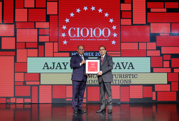 The Digital Architect: Ajay Srivastava, Head-IT of Himachal Futuristic Communications receives the CIO100 Award for 2018