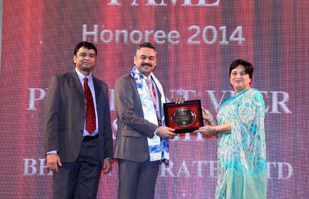Hall of Fame: Prashanth Veer Singh, CIO & CISO, Bharti Infratel receives the CIO100 Special Award for 2014.