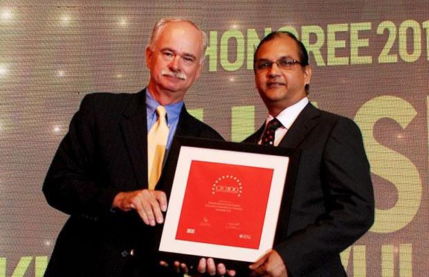 The Resilient 100: Shashi Kumar Ravulapaty, Sr. VP & CTO of Reliance Capital receives the CIO100 Award for 2012