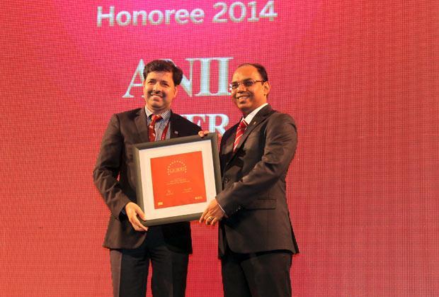 The Dynamic 100: Prashanth Veer Singh, CIO & CISO, Bharti Infratel receives the CIO100 Award for 2014.