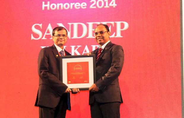 The Dynamic 100: Sandeep Kulkarni, VP & CIO, Viom Networks receives the CIO100 Award for 2014.