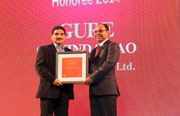 The Dynamic 100: Gure Govind Rao, CIO of HCL Services receives the CIO100 Award for 2014