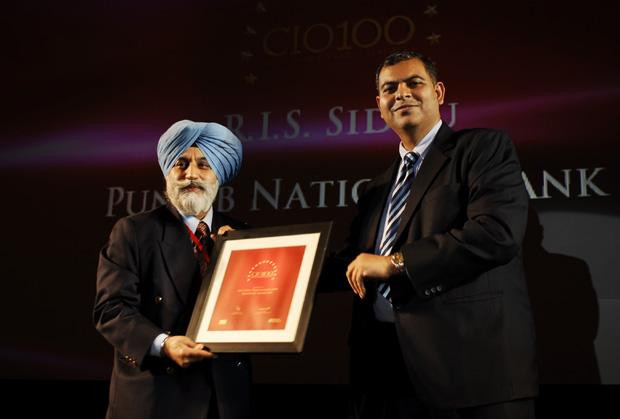 The Agile 100: R I S Sidhu, GM - IT of Punjab National Bank receives the CIO100 Award for 2010