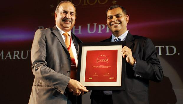 The Agile 100: Rajesh Uppal, CIO, Maruti Suzuki India receives the CIO100 Award for 2010