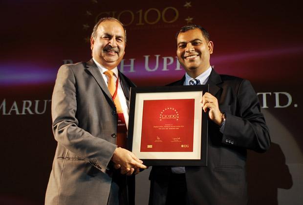 The Agile 100: Rajesh Uppal, CIO, Maruti Suzuki India receives the CIO100 Award for 2010
