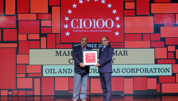 The Digital Architect: Mahendra Kumar Chaudhary, Executive Director & CIO, Oil and Natural Gas Corporation (ONGC) receives the CIO100 Award for 2018