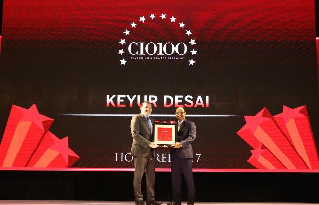 The Digital Innovators: Keyur Desai, Head-IT and VP at Essar Ports and Shipping receives the CIO100 Award for 2017