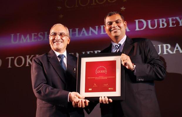 The Agile 100: U C Dubey, Executive Director-IT at Iffco Tokio General Insurance Company (IFFCO) receives the CIO100 Award for 2010