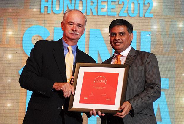 The Resilient 100: Sunil Mehta, Sr. VP - Area Systems Director (Central Asia), JWT India receives CIO100 Award for 2012