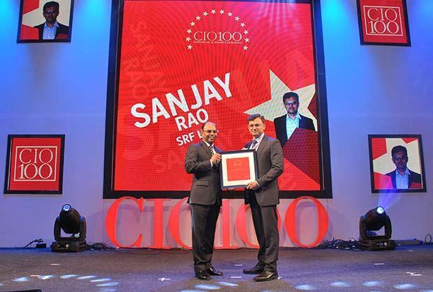 The Transformative 100: Sanjay Rao, SVP at SRF receives the CIO100 Award for 2016