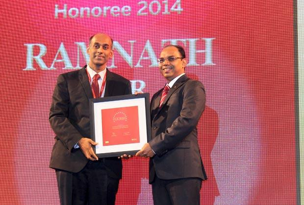 The Dynamic 100: Ramnath Iyer, CIO of CRISIL receives the CIO100 Award for 2014